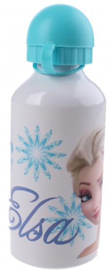 Disney drinkfles Frozen aluminium 500 ml wit