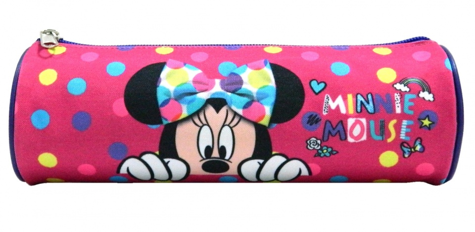 Disney etui Minnie Mouse 22 x 7 cm roze