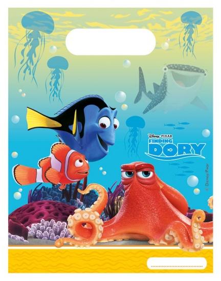 Disney feestzakjes Finding Dory: 6 stuks