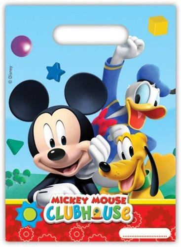 Disney Feestzakjes Mickey Mouse 6 Stuks