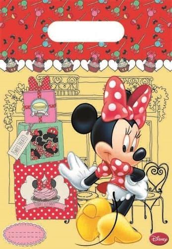Disney Feestzakjes Minnie Mouse 6 Stuks