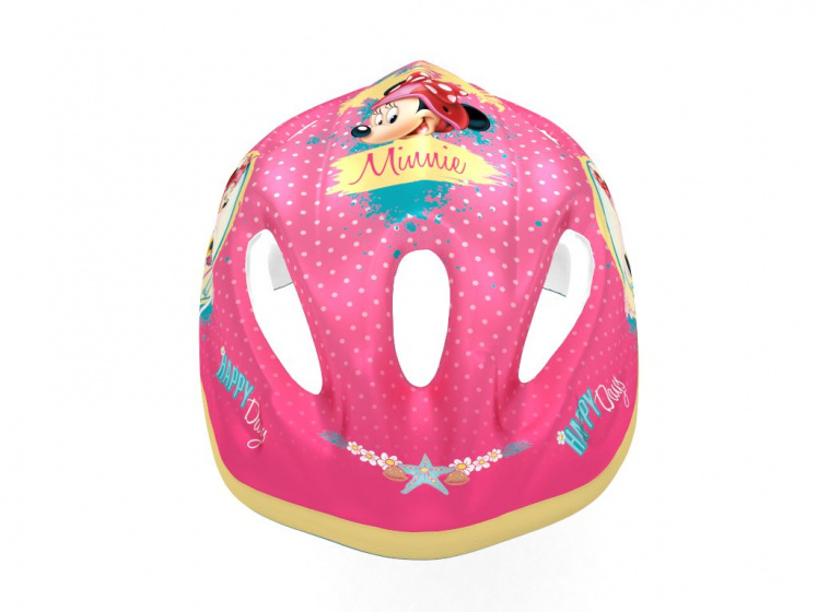 bicycle Minnie Mousehelmet girls pink size 52/56 cm
