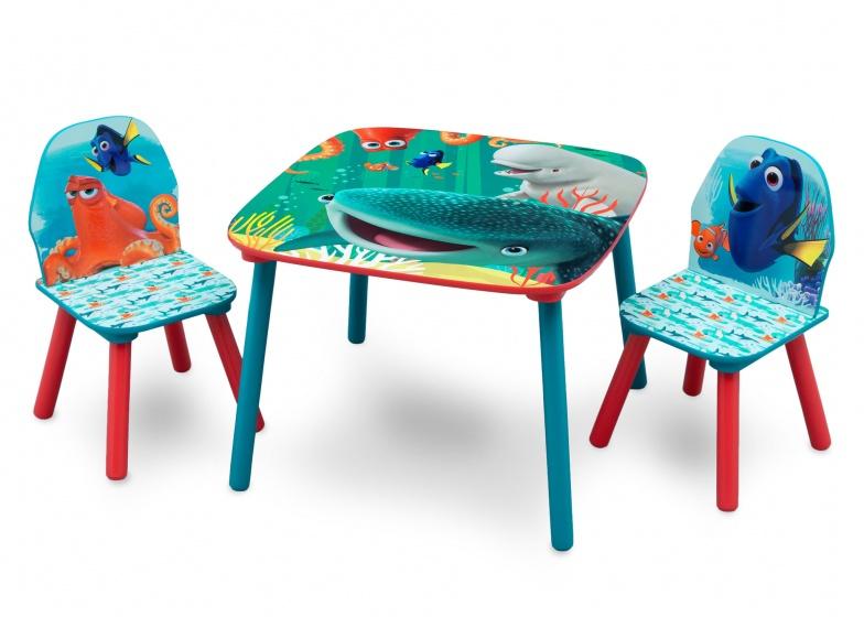 Disney Finding Dory tafel met stoelen hout