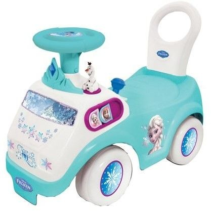 Disney Frozen activity loopwagen blauw/wit