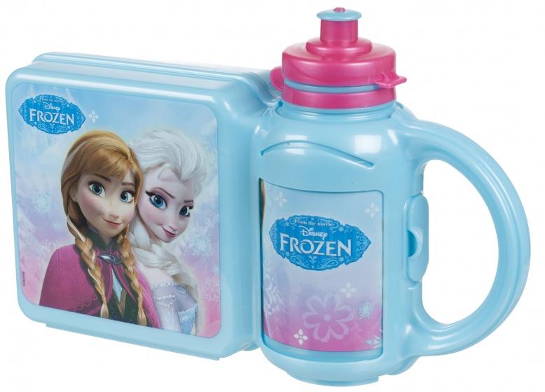 Disney Frozen broodtrommel en beker roze