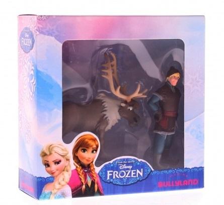 Disney Frozen Bullyland Figuren: Sven en Kristoff