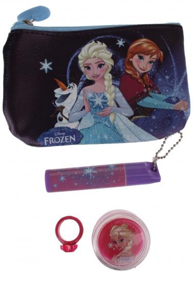 Disney Frozen cosmetica set 4 delig blauw