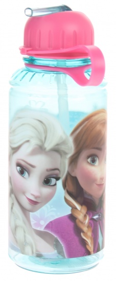 Disney Frozen drinkbeker 17,5 x 6.5 cm mint blauw/roze
