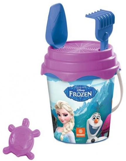 Disney Frozen emmer set 5 delig paars/blauw 17 x 15 cm