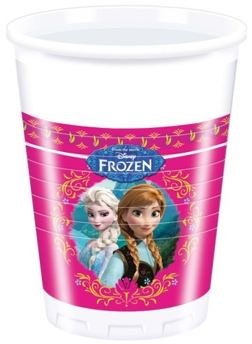 Disney Frozen Feestbekers 200ml 8 Stuks