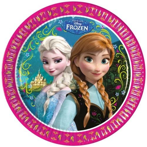 Disney Frozen Feestborden 23cm 8 Stuks