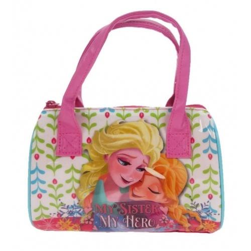 Disney Frozen handtas 16 x 20 x 10 cm wit/roze