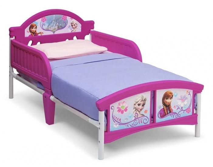 Disney Frozen Kleuter Bed Paars 77 x 143 x 67 cm