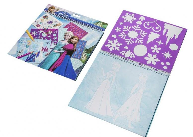 Disney Frozen Knutselboek 26 X 24 cm