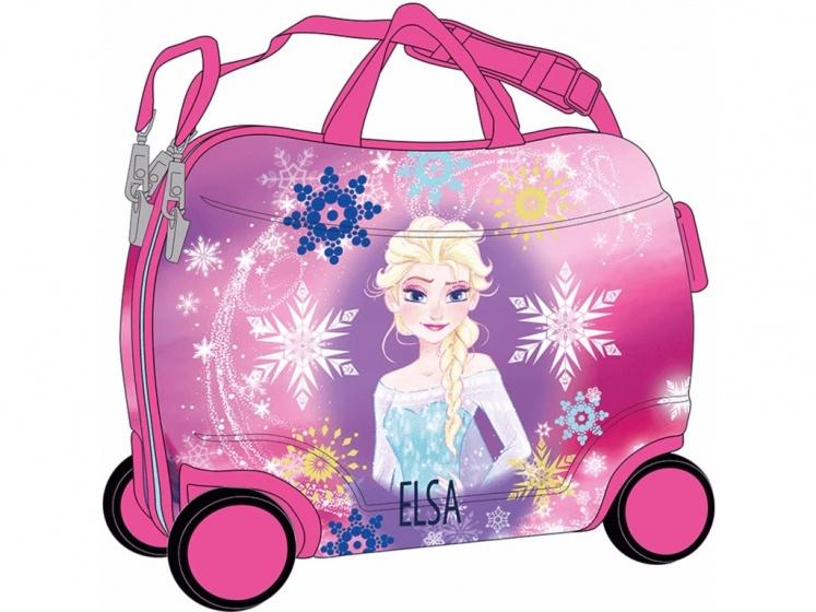 Disney Frozen koffer 38 x 50 x 20 cm roze