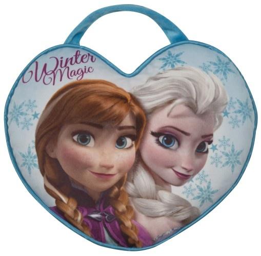 Disney Frozen Kussen Elsa en Anna Draagbaar 36 X 30 cm