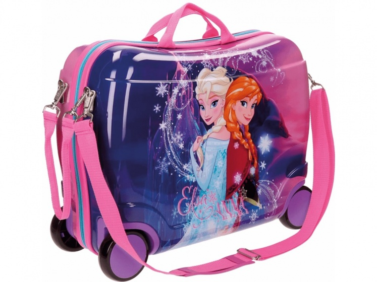 Disney Frozen Magic koffer 38 x 50 x 20 cm roze