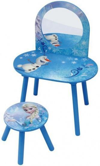 Disney Frozen Make up tafel met krukje meisjes blauw