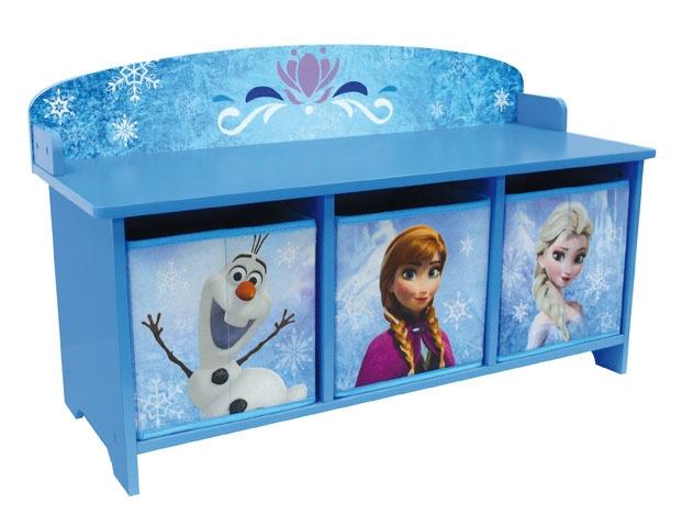 Disney Frozen Opbergkast meisjes blauw 74 x 29 x 44 cm