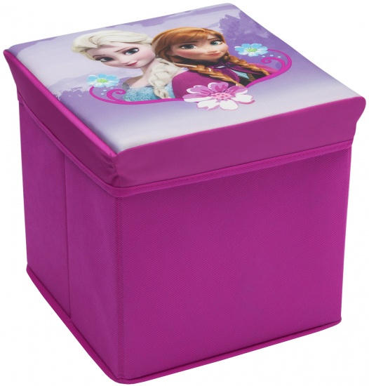 Disney Frozen canvas opbergbox en tevens krukje