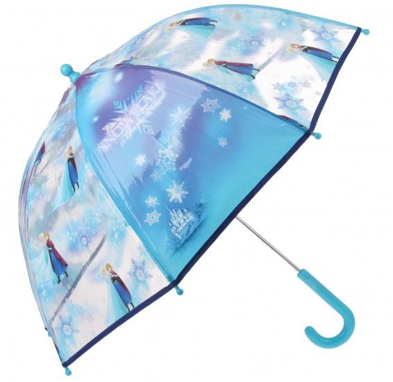 Disney Frozen paraplu meisjes lichtblauw 65 cm