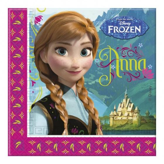 Disney Frozen servetten - 20 stuks