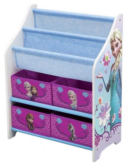 Disney Frozen Speelgoed Opbergkast Met Boekenrek