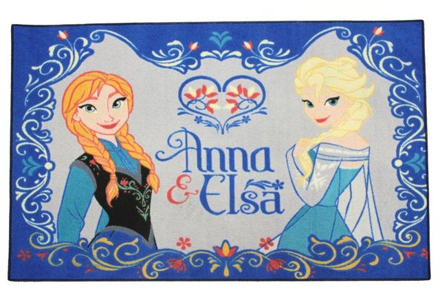 Disney Frozen Speelkleed Anna en Elsa 95 X 133 cm