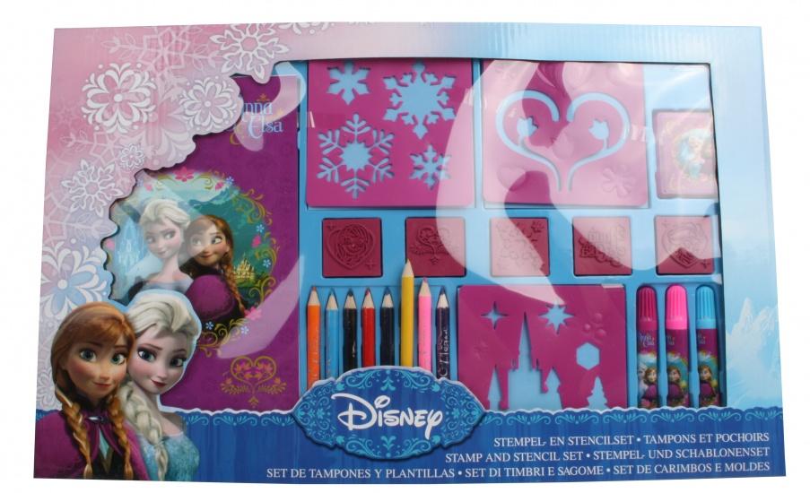 Disney Frozen Stempel en kleurset 22 delig