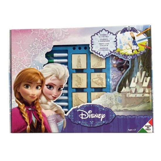 Disney Frozen stempelset 22 delig