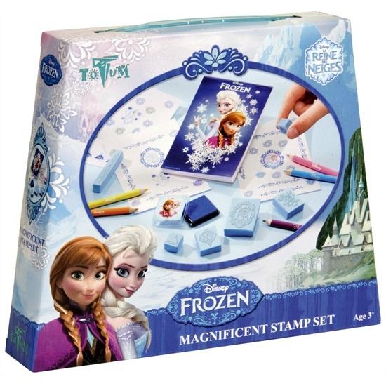 Disney Frozen Magnificent Stampset Frozen Stempelset