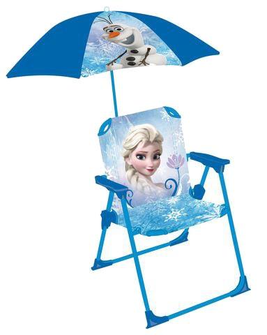 Disney Frozen Stoel met Parasol meisjes blauw