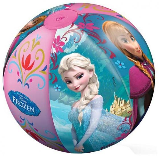 Disney Frozen strandbal roze 50 cm