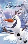 Disney Frozen Uitnodigingen KOM Je Ook? 6 Stuks