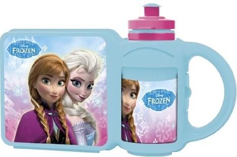 Disney Giftset Frozen Lunchbox en Bidon