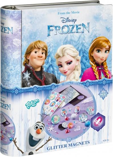 Disney Glitter Magneti Frozen ToTum