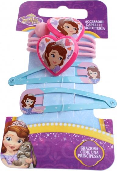 Disney haaraccessoires Sofia 4 delig blauw
