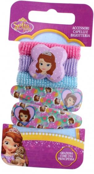 Disney haaraccessoires Sofia 5 delig roze