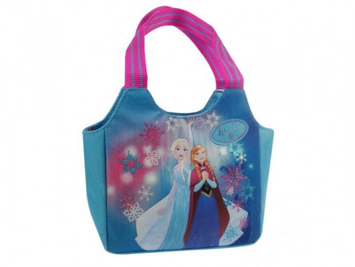 Disney handtas Frozen Northern Lights blauw 18 x 18 x 7 cm