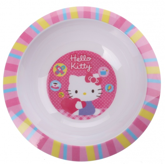 Disney Hello Kitty kom Roze 16 cm
