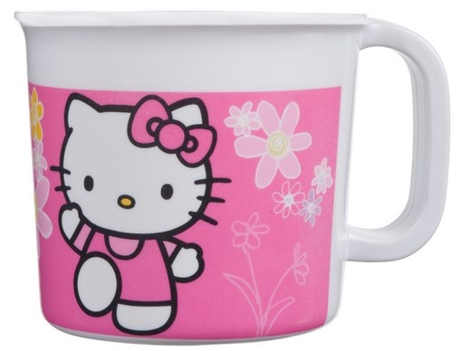 Disney Hello Kitty mok 350 ml roze