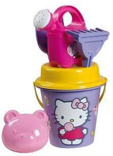 Disney Hello Kitty Paarse Strandemmerset Met Gieter 6 Delig