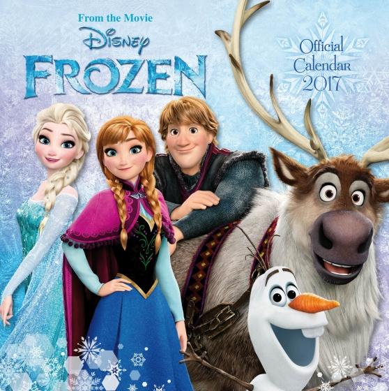 Disney kalender Frozen 2017 30 x 30 cm