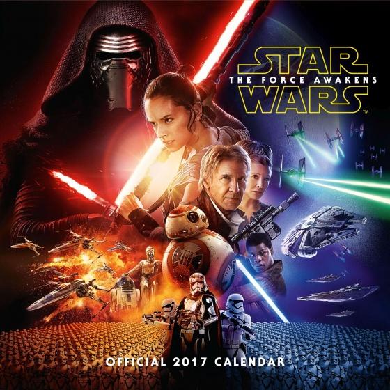 Danilo kalender Star Wars EP7 2017 30 x 30 cm