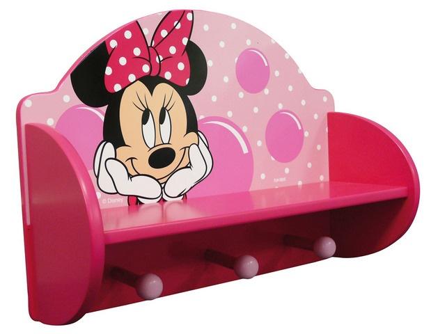 Disney Kapstok Minnie Mouse roze 33 x 15 x 46 cm