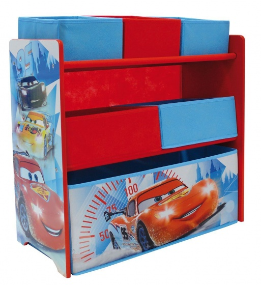Disney Kast Cars Rood/Blauw 66 x 30 x 63,5 cm