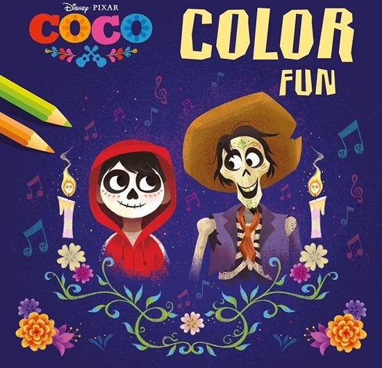 Disney Color Book Color Fun Coco 22 cm - Internet-Toys