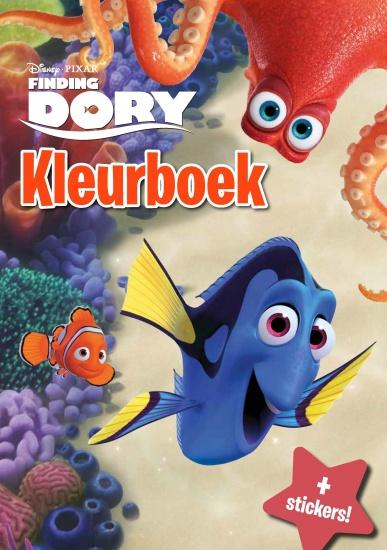 Disney Kleurboek Finding Dory met stickers
