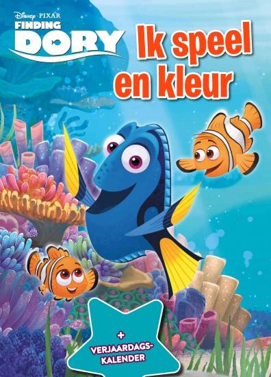 Disney Kleurboek Finding Dory met verjaardagskalender