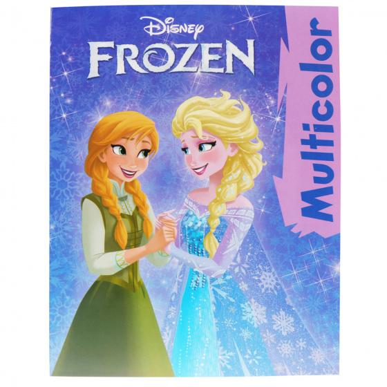Disney kleurboek Frozen junior 297 x 210 mm 32 pagina's
